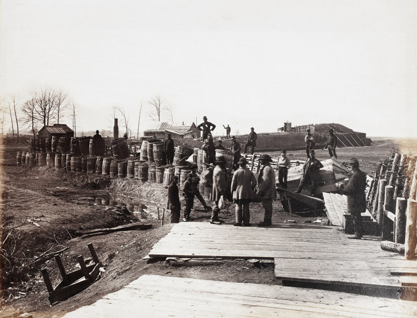 Fortifications at Manassas